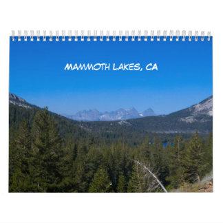 2015 Mammoth Lakes Calendar