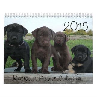 2015 Mastador Puppies Calendar