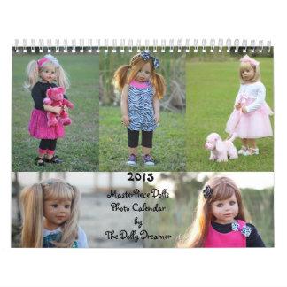 2015 Masterpiece Dolls Photo Calendar