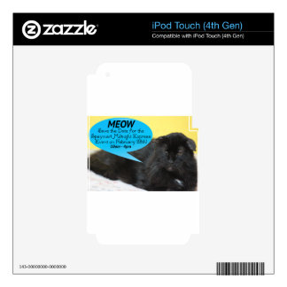 2015 Midnight Express Decals For iPod Touch 4G