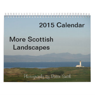 2015 More Scottish Landscapes (Robin Smith) Calendar