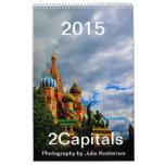 2015 Moscow & St. Petersburg Vertical Wall Calendars