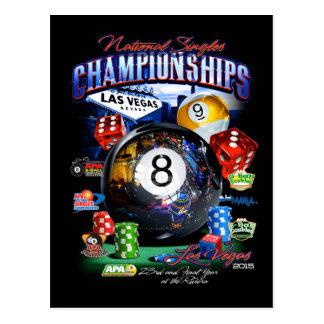2015 National Singles Championship Postcard