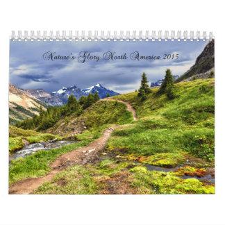 2015 Nature's Glory North America Wall Calendar