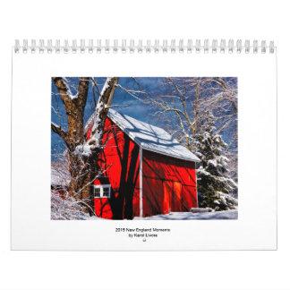 2015 New England Moments Photography Calendar