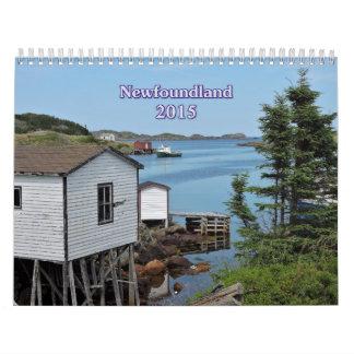 2015 Newfoundland Calendar