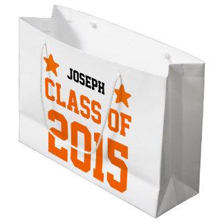 2015 o cuaesquiera clases del año de nuevo bolsa de regalo grande