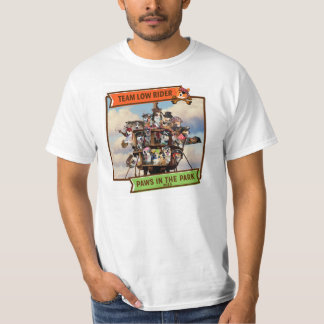 2015 Paws in the Park Value T-shirt: One Sided T-shirt