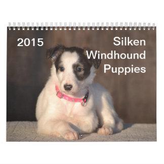 2015 perritos de seda de Windhound Calendarios