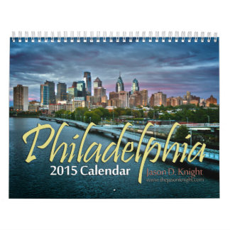 2015 Philadelphia Calendar