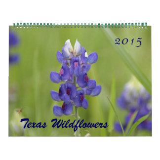 2015 Photos of North Central Texas Wildflowers Calendar