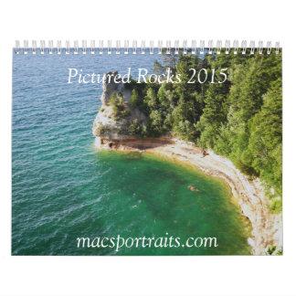 2015 Pictured Rocks Calendar