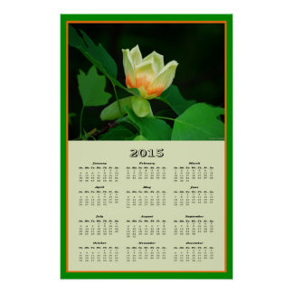 2015 Poplar Tulip Calendar Posters
