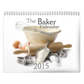 2015 que cuece a través del calendario del año