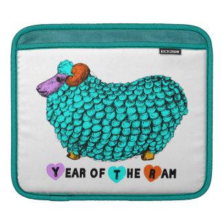 2015 Ram Sheep Goat Year Rickshaw iPad Sleeve