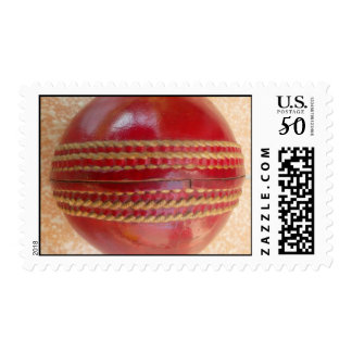 2015 Red Cricket World Cup Ball Postage Stamp