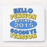 2015 Retirement Mouse Pad
