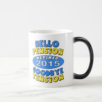 2015 Retirement 11 Oz Magic Heat Color-Changing Coffee Mug