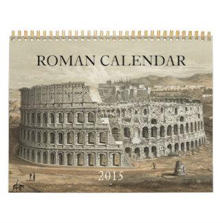 2015 ROMAN WALL CALENDAR