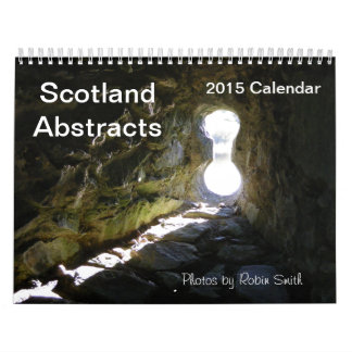 2015 Scotland Abstracts Calendar by Robin Smith