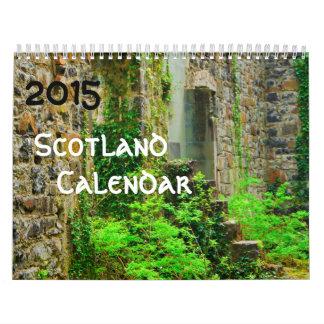 2015 Scotland Calendar