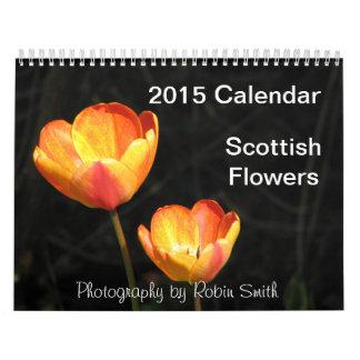 2015 Scottish Flowers by Robin Smith Calendar