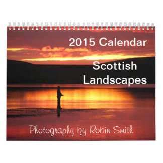 2015 Scottish Landscapes by Robin Smith Calendar
