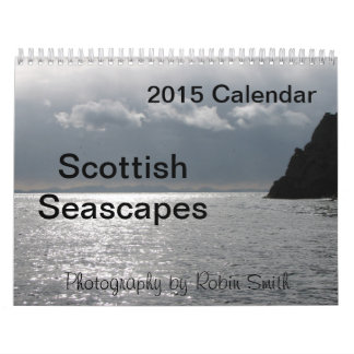 2015 Scottish Seascapes by Robin Smith Calendar