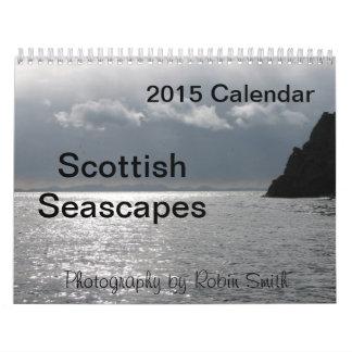 2015 Scottish Seascapes by Robin Smith Calendar
