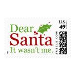 2015 sellos del navidad {letras a Santa}