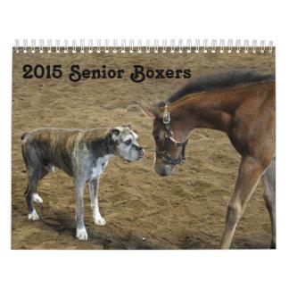 2015 Senior Boxer Calendar