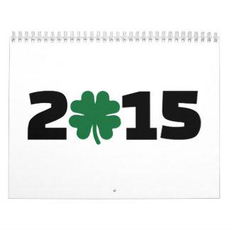 2015 shamrock calendar