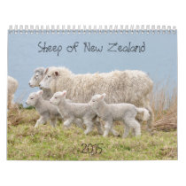 2015 Sheep of New Zealand Calendar