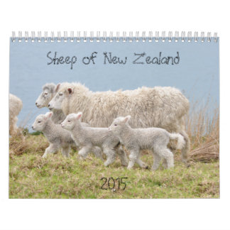2015 Sheep of New Zealand Calendar