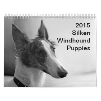 2015 Silken Windhound Puppies Calendar