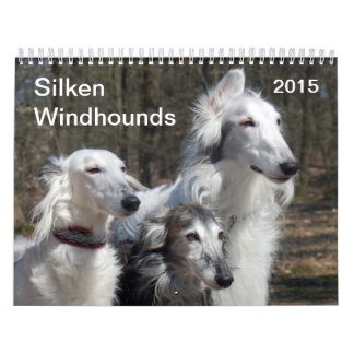 2015 Silken Windhounds Calendar