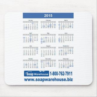 2015 Soap Warehouse Calendar Mouse Pad