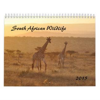 2015 South African Wildlife Calendar