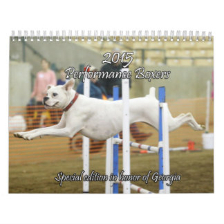 2015 Special Edition Boxer Performance Calendar