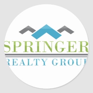 2015 Springer Realty Group_Logo XL.png Classic Round Sticker