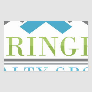 2015 Springer Realty Group_Logo XL.png Rectangular Sticker