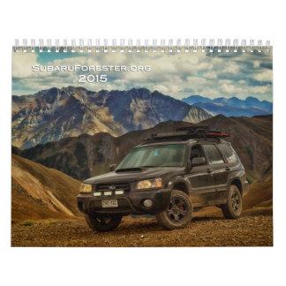 2015 subaruforester.org Calendar