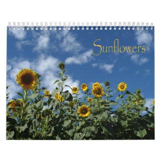 2015 Sunflower Calendar