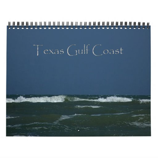 2015 Texas Gulf Coast Calendar