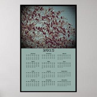 2015 The Birds Calendar Poster