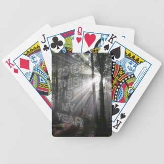 2015 This is My Year Bicycle Playing Cards