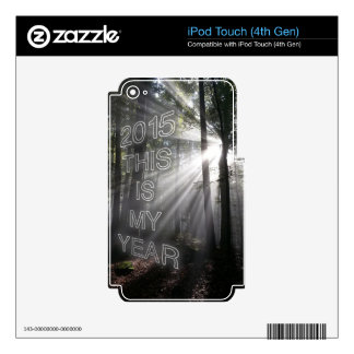 2015 This is My Year Decal For iPod Touch 4G