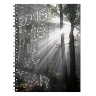 2015 This is My Year Notebook
