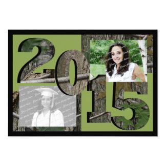 2015 Tree Camo Grad Twin Photo Green Card