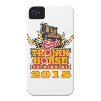 2015 Trojan Horse Logo Designs iPhone 4 Case-Mate Case